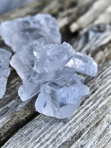 Halit-Kristallsalz-Brocken