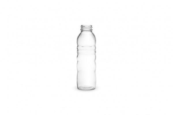 Glasflasche 0.5 l (breiter Flaschenhals)