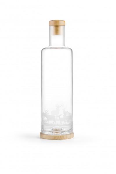 Glaskaraffe Hirsch 1.0 l