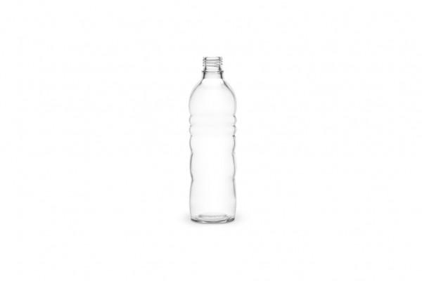 Glasflasche 0.5 l (schmaler Flaschenhals)
