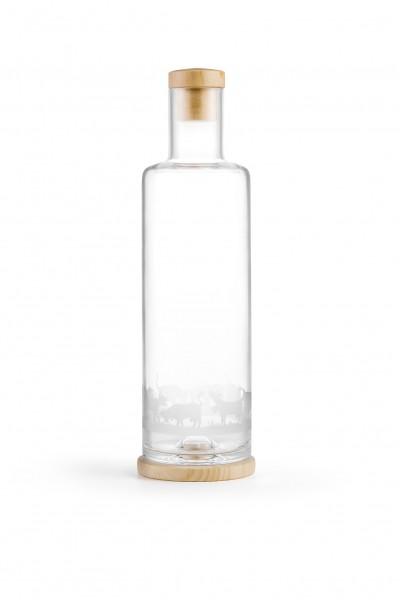 Glaskaraffe Kuh 1.0 l