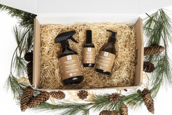 Geschenkset natürliche Hygieneprodukte mit Bio-Arvenöl